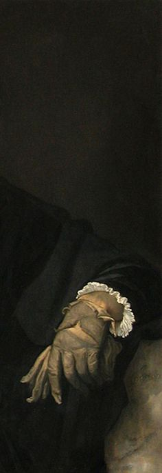 Tiziano Vecelio - Uomo con guanto 1520