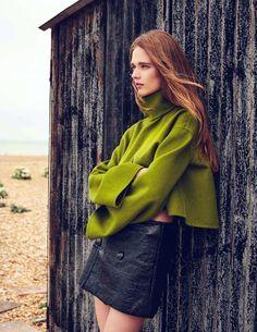 Beegee Margenyte In 'Fashion Galore' By Mattias Bjorklund For Tatler UK September 2016
