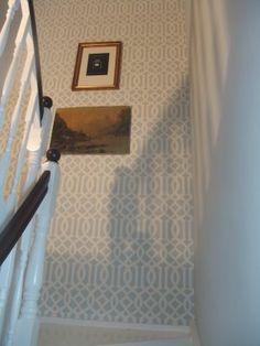 kelly wearstler trellis wallpaper