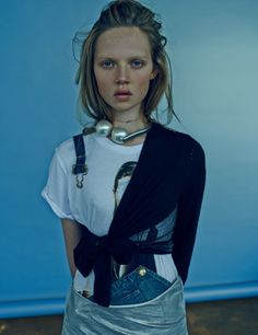 visual optimism; fashion editorials, shows, campaigns & more!: holly rose by beau grealy for i-d australia june 2014