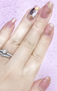 Sailor Moon Nail (゜0゜)