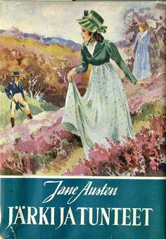 Sense and Sensibility by Jane Austen  Finnish 1952 edition -   Järki ja tunteet / Jane Austen ; suomentanut Aune Brotherus
