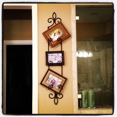 Display picture frames that are currently sitting on end tables etc! | Jennieu0027s Board | Pinterest | Plate holder Display pu2026 & Great way to use my plate holder! Display picture frames that are ...
