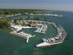 Crescent Sail Yacht Club, Grosse Pointe, Michigan, USA