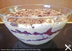 Chefkoch.de Rezept: Kirsch - Quark - Nachspeise