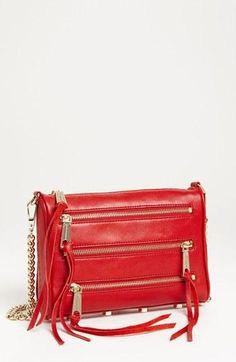 Red hot! Rebecca Minkoff mini crossbody bag