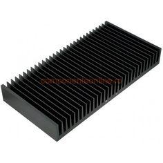 Radiator aluminiu, 150x300x40mm, Fischer Elektronik - 006347