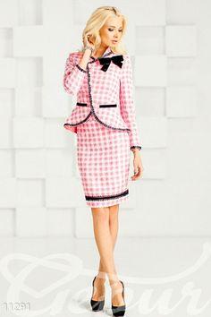 Gepur | Костюм юбка-карандаш арт. 11291 Цена от производителя, достоверные описание, отзывы, фото