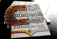 COLOURING BOOK  an introduction to procrastination by NOVARELLA