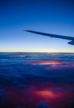 Au dessus du pays du soleil levant- Above the rising sun