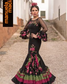 Colección 2018 - Manuela Macías Moda Flamenca Glam Dresses, Vintage Dresses, Short Dresses, Fashion Dresses, Formal Dresses, Flamenco Costume, Flamenco Dresses, Flamenco Wedding, Spanish Fashion