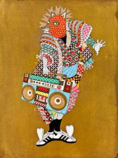 Ferris Plock breaks apart culture to create works of art
