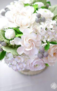 More White Floral Arrangements