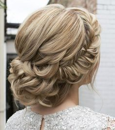 Featured Hairstyle: Courtesy of Hair and Makeup by Steph (Stephanie Brinkerhoff); wedding hair styles idea; www.hairandmakeupbysteph.com
