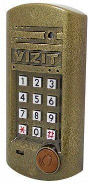 """Вызывная панель VIZIT БВД-314FCP БВД-314FCP VIZIT БВД-314FCP - блок вызова для совместной работы с БУД-302(М,К-20,К-80). Встроенный считыватель ключей VIZIT-RF3 (RFID-13.56МГц).Обеспечивает дополнительную защиту от несанкционированного администрирования домофона. Световая индикация режимов работы. Подсветка клавиатуры. Встроенная телекамера цветного изображения с функцией """"День-ночь"""" (700 tvl, PAL, 0 Lux, ИК подсветка для телекамеры, объектив 90 градусов). Рекомендуется использовать…"""
