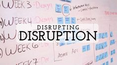 Disrupting Disruption Social Media Marketing, Insight, Advice, Digital, Business, Blog, Business Illustration