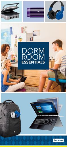 Dorm room space can be hard to come by, so obviously a Lenovo Yoga 3 Pro 2-in-1 laptop—with its incredible balance of productivity and entertainment all in one thin device—makes a lot of sense. So do  (Tech Accessories Dorm Room)