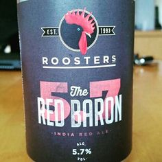 The Red Baron by Rooster's #untappd
