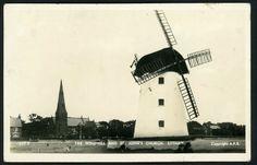 Postcard St Johns Church Windmill Lytham St Annes Blackpool 1959 Real Photo ??   eBay