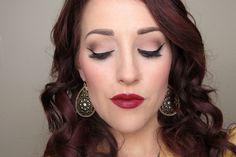2 Broke Girls Halloween Costume Kat Dennings Makeup Tutorial Max Black Makeup Lipstick