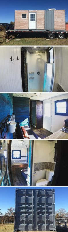 UNIQUE HIGH END SHIPPING CONTAINER HOME