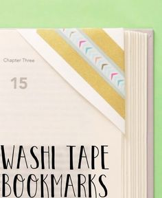 Turn the corner of an envelope into a cute bookmark that won't damage the spine of your favorite reads.