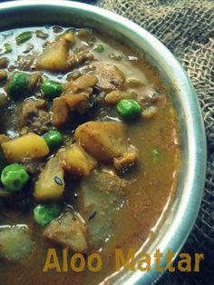 Potato and Peas Curry