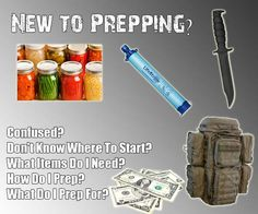 Preppingsupplies New To Prepping Start Here Shtf Preparedness Emergency