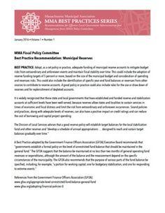 MMA publishes municipal 'best practices' report | #massachusetts #municipalleague | #bestpractices #localgov #municipalities #strategies #leadership