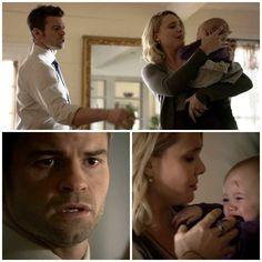 "The Originals – TV Série - Elijah Mikaelson - Daniel Gillies - baby Hope Mikaelson - bebê - Camille ""Cami"" O'Connell - Leah Pipes - amor - love - sobrinha - niece - uncle - tio - 2x13 - The Devil Is Damned - O Diabo Está Condenado"