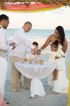 Family Sand Ceremony For Wedding