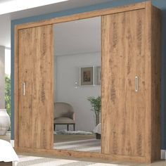 Guarda-roupa Scoth 3 Portas Ebano << R$ 43690 >>