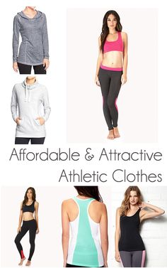 60ed72601dd Affordable and Attractive Athletic Clothes - GenPink. Tyler s Nutrition Training    Fitness