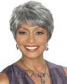 Short gray hairstyles for women                                                                                                                                                                                 More