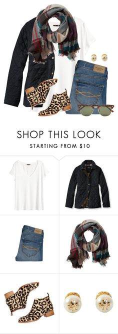 """""""Lots of things going on in this set:)"""" by flroasburn on Polyvore featuring H&M, L.L.Bean, Abercrombie & Fitch, TravelSmith, Jeffrey Campbell, Tory Burch and Ray-Ban"""