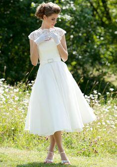Wedding dress - Daphne short wedding dress
