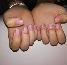 Refil ricostruzione unghie  #nails#nail#gel#goldennails#mesauda#134#scirocco#shoking#32#glitterrosa#square