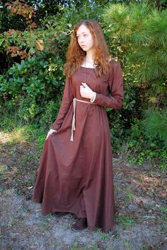 Simple Medieval Dress by BadWolfCostumes on Etsy, $140.00