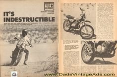 1971 Suzuki TS-125R Duster – It's Indestructible – motorcycle Road Test / Specs