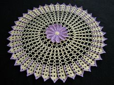 One of hundreds of doilies I've made.