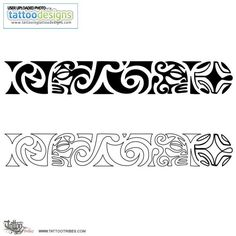Tribal Bracelet Tattoos Maori Wrist Band Tattoo Image Tattooing ...