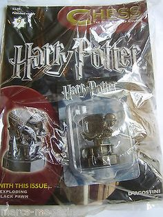 #Deagostini harry potter #chess #piece part # 9 exploding black pawn,  View more on the LINK: http://www.zeppy.io/product/gb/2/162042301187/