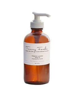 Calming Beauty Products: Tammy Fender Bulgarian Lavender Body Oil   allure.com
