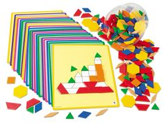 "Plastic Pattern Blocks-on Amazon by Melissa and Doug for cheaper but the ""pin it"" isn't working"