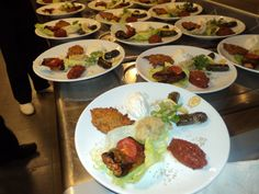 Delicious plates from the menu...
