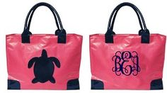 Two of my favorites, turtles and monograms.