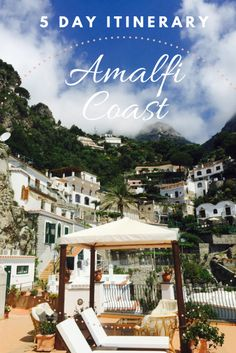 How To See The Amalfi Coast In 5 Days Including the towns of paestum, Salerno, Maiori, Ravello, Amalfi. What towns to visit on Amalfi. Amalfi Coast Italy, Sorrento Italy, Italy Italy, Toscana Italy, Sardinia Italy, Venice Italy, Naples Italy, Italy Honeymoon, Italy Vacation