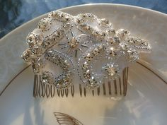 Hair Comb  Wedding Comb  Crystal Bridal Hair comb by LovelyBride2B
