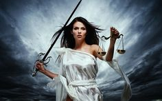 Photo about Femida, Goddess of Justice, with scales and sword against dramatic stormy sky. Image of honesty, case, ancient - 38917662 Switch Witch, Astrology And Horoscopes, Thing 1, New Moon, Witchcraft, Wiccan, Magick, Libra, Stock Photos
