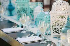 Casa Romantica, Teal and Blush wedding, Modern Moroccan wedding decor, A Good Affair Wedding & Event Production, Luminaire Images, San Clemente Wedding planner